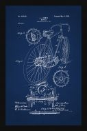 Bicycle Patent - Blue