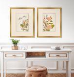 Shiken Floral Panels I - Set of Two