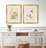 Shiken Floral Panels II - Set of Two
