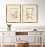 Shiken Floral Panels III - Set of Two